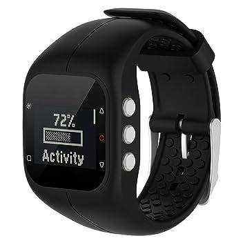Gereton Polar A300 Smart Watch Correa de Reloj de Pulsera de Silicona Suave Correa Smartwatch Banda de Pulsera para Polar A300 Reloj Inteligente