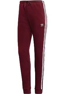 adidas Originals Jogginghose Damen Regular TP Cuff DH3147 Weinrot