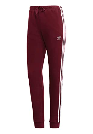 fa8e9bb43b51fc adidas Originals Jogginghose Damen Regular TP Cuff DH3147 Weinrot   Amazon.de  Bekleidung