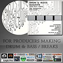 Drum & Bass Massive - WAV LOOPS (3100 Loops) Pack - For Ableton live, Steinberg Cubase / Nuendo, Sony Acid, Fruity Loops Studio, Allple Logic, Avid Pro Tools, N.I Maschine, And any other DAW or Sampler / Sequencer