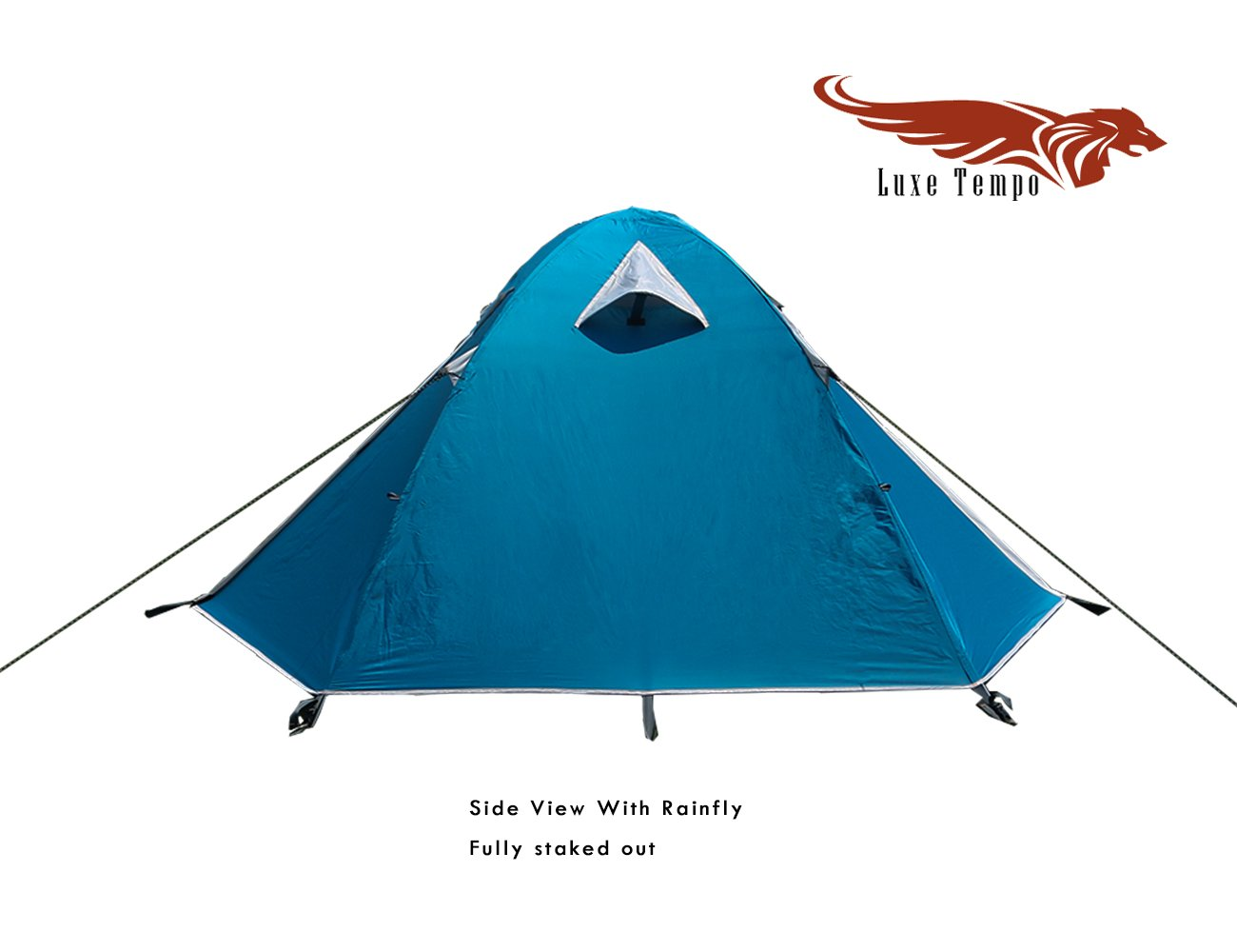 Amazon.com  Luxe Tempo Backpacking 2 Person Tents for C&ing with Rainfly 3-4 season 2 Doors 2 Vestibules  Sports u0026 Outdoors  sc 1 st  Amazon.com & Amazon.com : Luxe Tempo Backpacking 2 Person Tents for Camping ...
