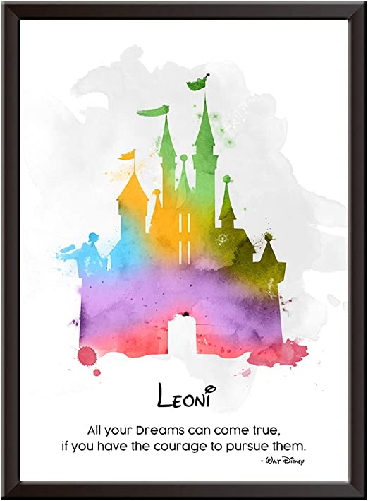 Musical Disney Gift ART PRINT Beauty and the Beast Quote illustration Song