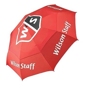 Wilson Staff, Paraguas, Resistente dosel antiviento a prueba de tormentas, Diámetro: 173