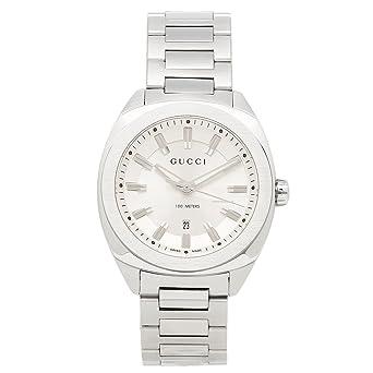 80158c806fee Amazon | [グッチ] 腕時計 GUCCI レディース YA142402 シルバー [並行 ...