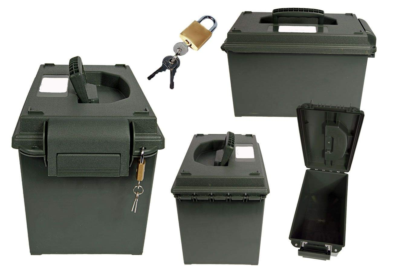 Armee Munitionskiste Kunststoff M83BG oliv 44 x 15,5 x 16