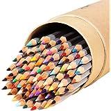 Ohuhu® Set di 48 Colori Matite Pittura Disegno/ Matite Multicolori per Artista Schizzo Colorare Giardino Segreto Assortiti