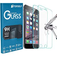 TERSELY [2 Packs] Screen Protector for iPhone 8 Plus/iPhone 7 Plus/iPhone 6s Plus/iPhone 6 Plus, Case Friendly Tempered…