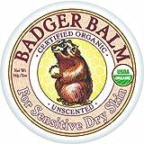 Badger - Unscented Balm - For Sensitive Dry Skin - 2 oz. - 1 Pack