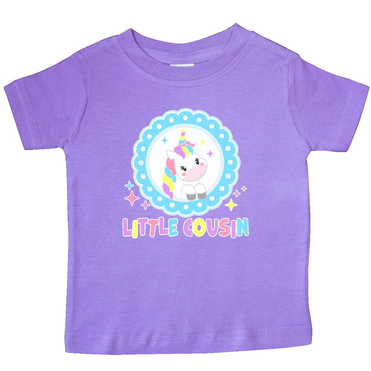 inktastic Little Cousin Cute Unicorn Baby T-Shirt