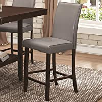 Coaster Home Furnishings 105319 Counter Height Chair, NULL, Grey