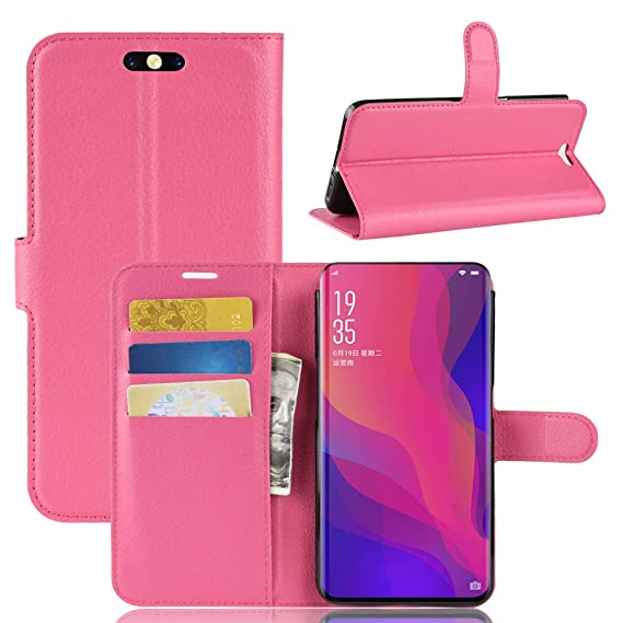 competitive price b81f8 dc980 Amazon.com: Compatible Oppo Find X Case, Oppo Find X Wallet Case ...