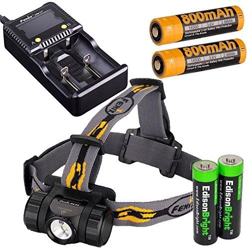 HL35 Headlamp rechargeable batteries EdisonBright