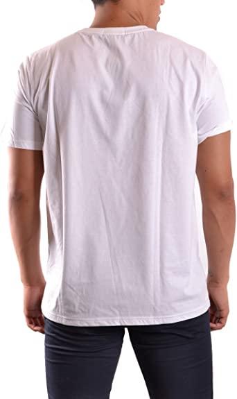 Fred Perry Fp Crew Neck, T-Shirt para Hombre, Blanco (WHITE), X ...