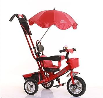 ZGP &Cochecito de bebé Triciclo del bebé, Pedal Convertible Trike Empuja la Bicicleta Triciclo fácil