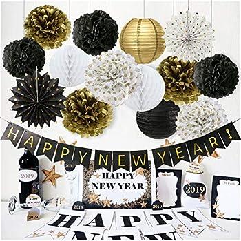 Amazon.com: Happy New Year Decorations Happy New Year ...
