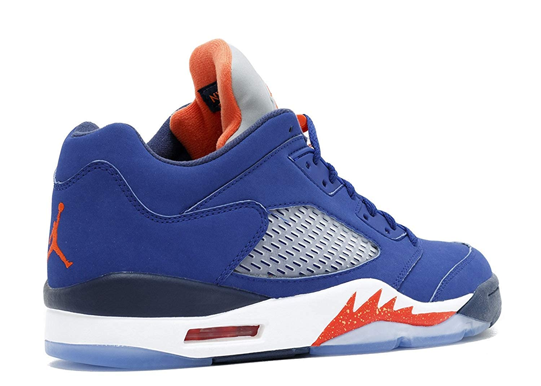 brand new e42f8 75ad9 Amazon.com   Mens Nike Air Jordan 5 Retro Low Basketball Shoes Royal Blue  819171-417 (11)   Basketball