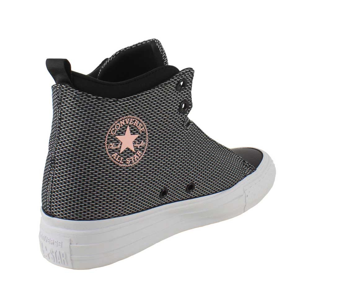 Converse Womens Chuck Taylor All B01HQPEPZW Star Selene Shield Sneaker B01HQPEPZW All 7.5 B(M) US|Black/Pink d89b24