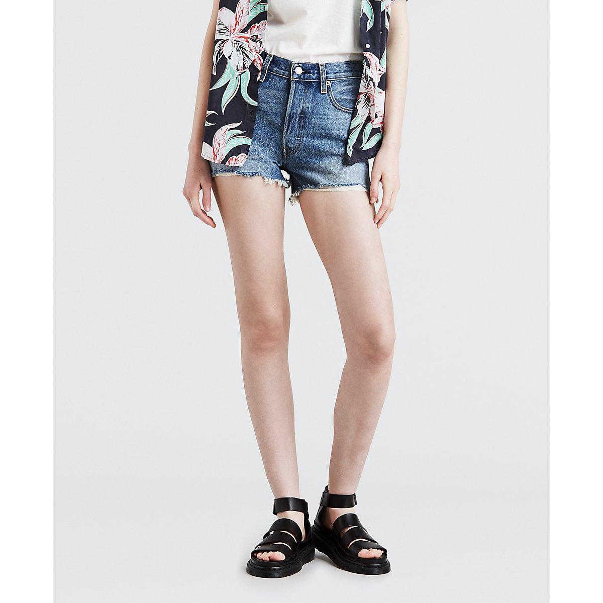 d34e70e0 Levi's Women's 501 High Rise Short at Amazon Women's Clothing store: