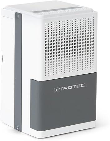 TROTEC Deumidificatore TTK 32 E Adatto per aree fino a 15 m/² o 37m/³ Prestazioni di deumidificazione 12 l//giorno incluso un Termoigrometro BZ06