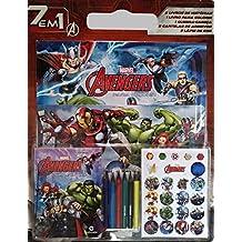 Super Kit Blister Vingadores 7 em 1