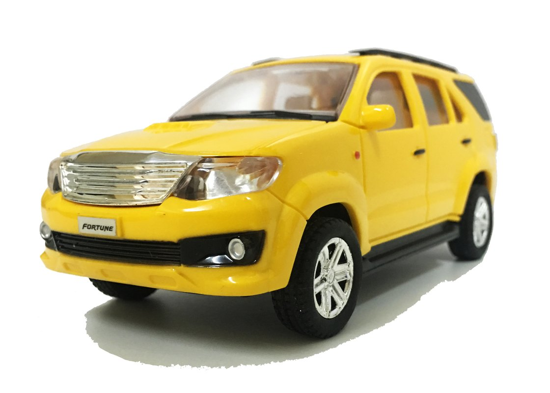 Buy Jack Royal Fortuner Toy Car Yellow Online At Low Prices In