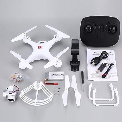 Detectoy XG183 2.4G RC Selfie Drone FPV Quadcopter con cámara 720P ...