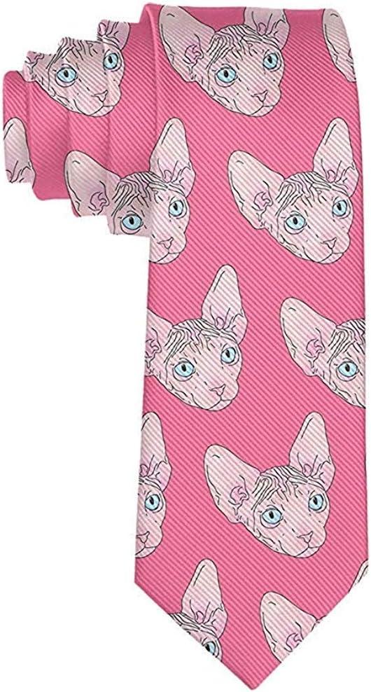 Corbata Corbatas de moda Corbata de alpaca rosa unicornio Corbatas ...