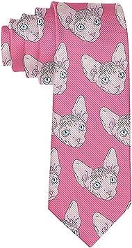Corbata Corbatas de moda Corbata de alpaca rosa unicornio ...