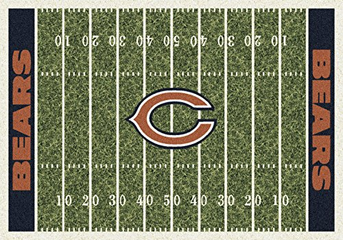 Chicago Bears NFL Team Home Field Area Rug by Milliken, 3'10