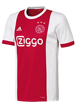 adidas Ajax Amsterdam Herren Heim Trikot 201718 rotweiß