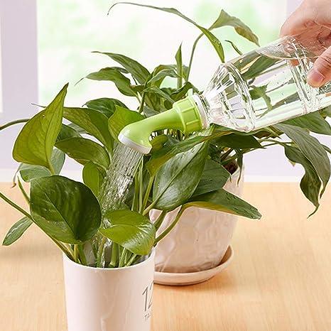 10*Pflanze Bewässerung Kopf Schraube Deckel Flasche Sprühwerkzeug Sprinkler Kit