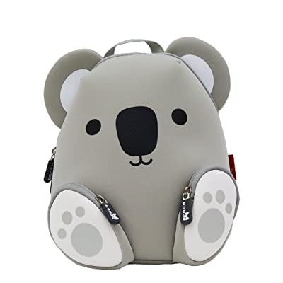 NOHOO Koala Toddler Backpack for Little Kids Water Resistance Kindergarten Preschool Bags Neoprene Children Schoolbag Cute Animal Cartoon Backpacks for Boys Girls | Kids' Backpacks