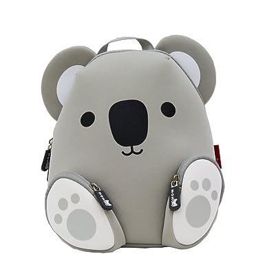 902879a6e9a0 NOHOO 3D Koala Toddler Sidekick Bags Animal World Cute Kindergarten Backpack