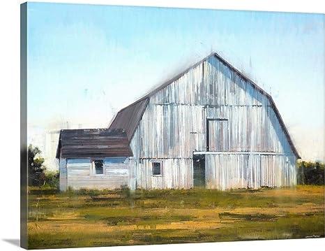 Amazon Com Barn Ii Canvas Wall Art Print 40 X30 X1 25 Posters Prints