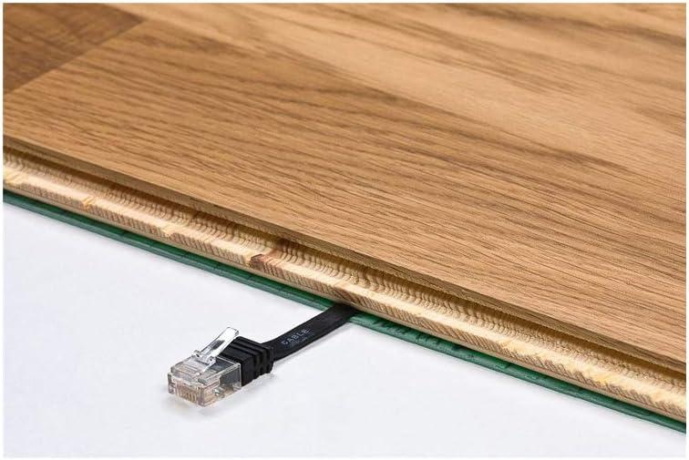 Orange 7m Length Goobay 96354 CAT 6A U//UTP Flat-Patch Cable