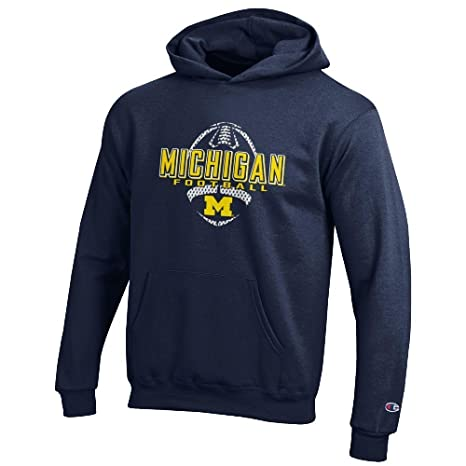 new concept ab357 9fe8d Amazon.com : Youth Michigan Wolverines Football Powerblend ...
