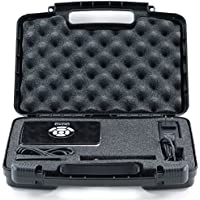 Hard Storage Carrying Case For Portable Projector. Fits RIF6 CUBE, LG MiniBeam, Syhonic S8, Pico Projector, InFocus IN1146-Stores HDMI Adapters, Mini Tripod, and Charging Cables- Black