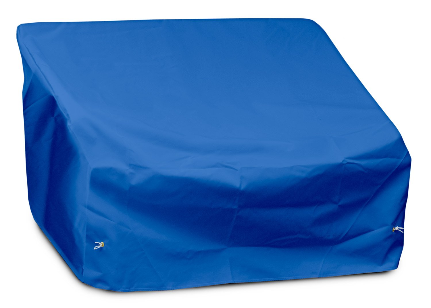 KoverRoos Weathermax 09147 Loveseat/Sofa Cover, 51-Inch Width by 33-Inch Diameter by 33-Inch Height, Pacific Blue