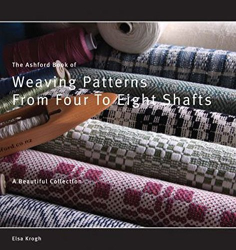 (Book of Weaving Patterns from 4 to 8 Shafts By Ashford )