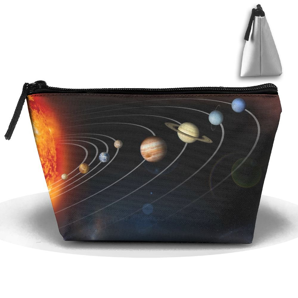 WQWSVX Solar System Planets Fashion Travel Bag Trapezoid