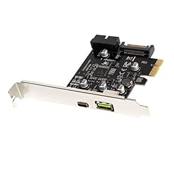Baoblaze PCI-E a USB 3.1 Tarjeta de Expansión Tipo C ...