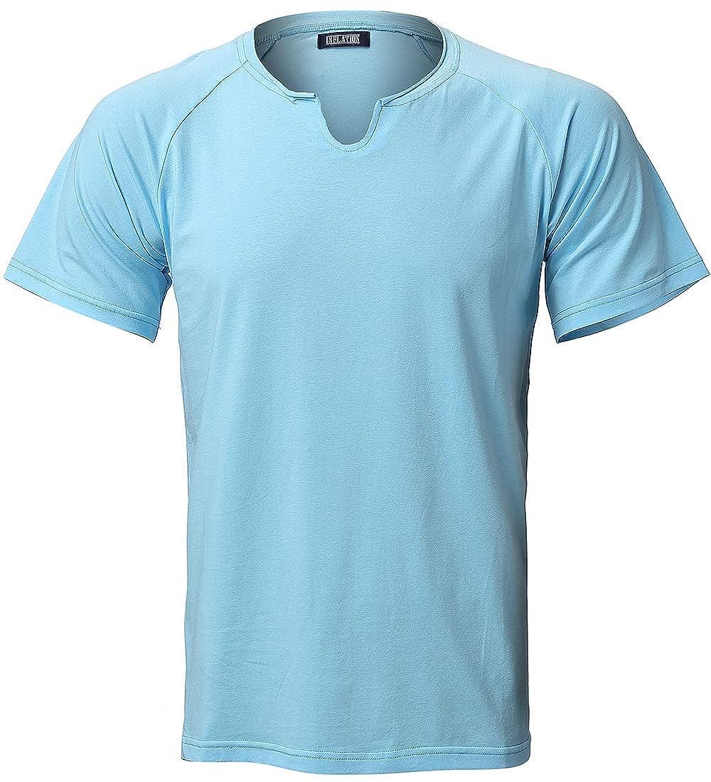Amazon Harrms Mens Regular Fit T Shirt Casual Cotton Short