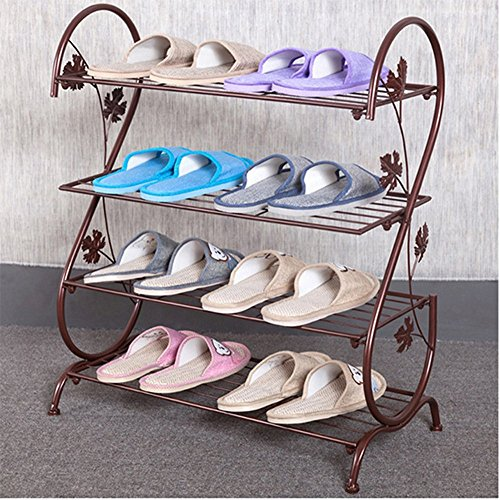 shoe rack bronze - 4