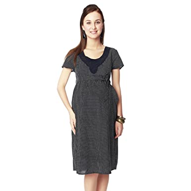 5415dfd586 Nine Maternity Dress (Navy