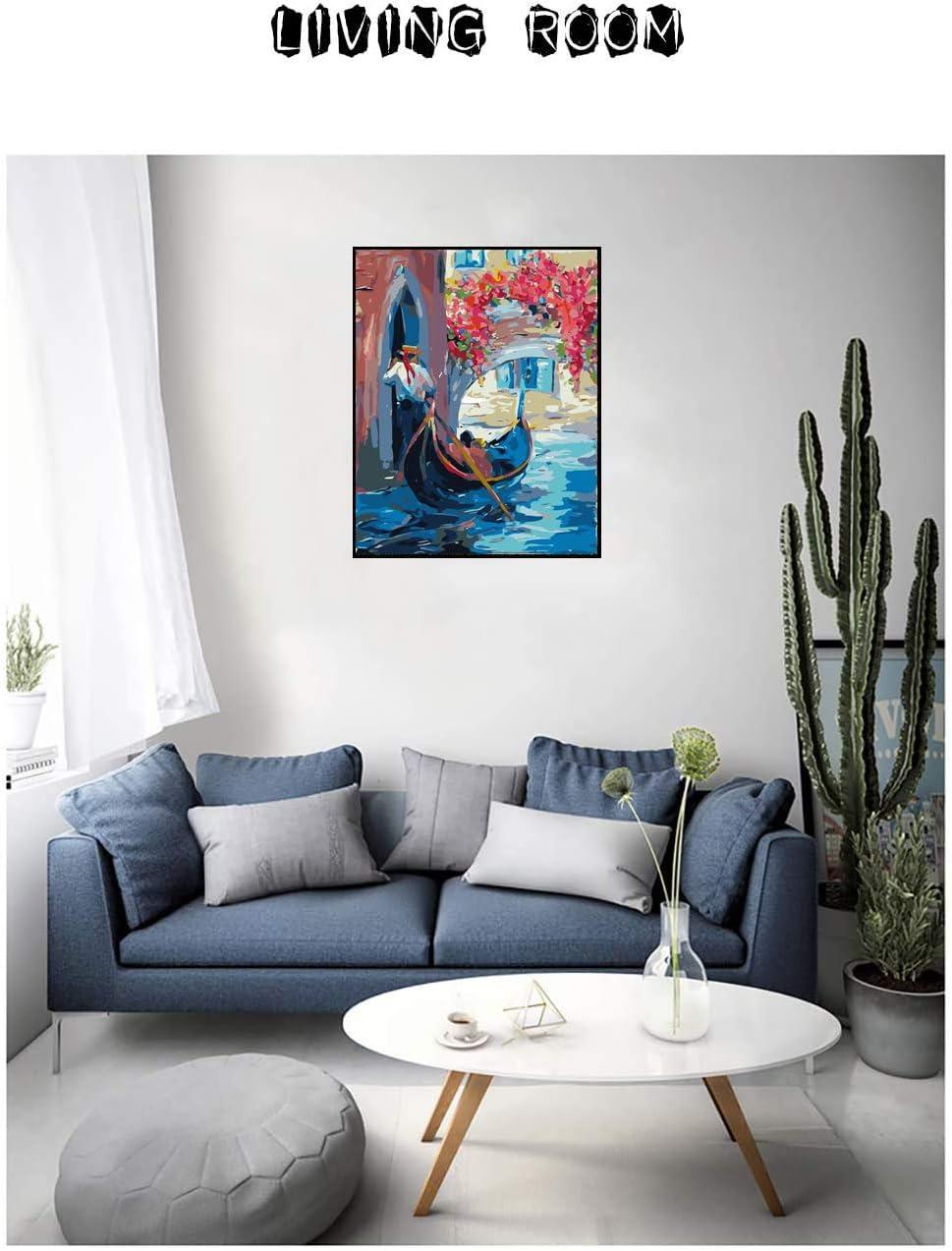 Girasol Alimtois Pintura por N/úmeros para Adultos Bricolaje Lienzo Preimpreso Pintura al /óleo Arte Decoraci/ón del Hogar Reducir la Ansiedad 40x50cm