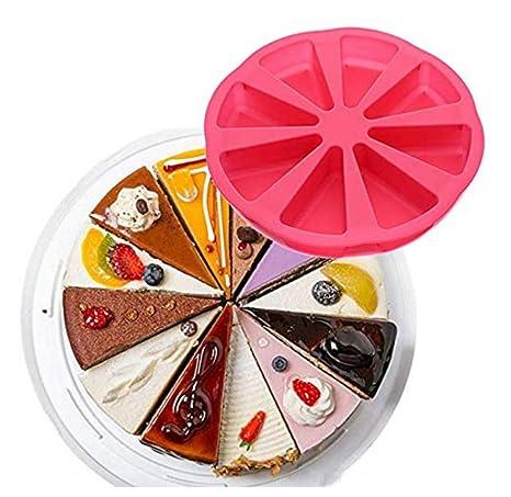 FKB@ED Horneando Pan Pastel Molde Silicona Triángulo Pizza ...