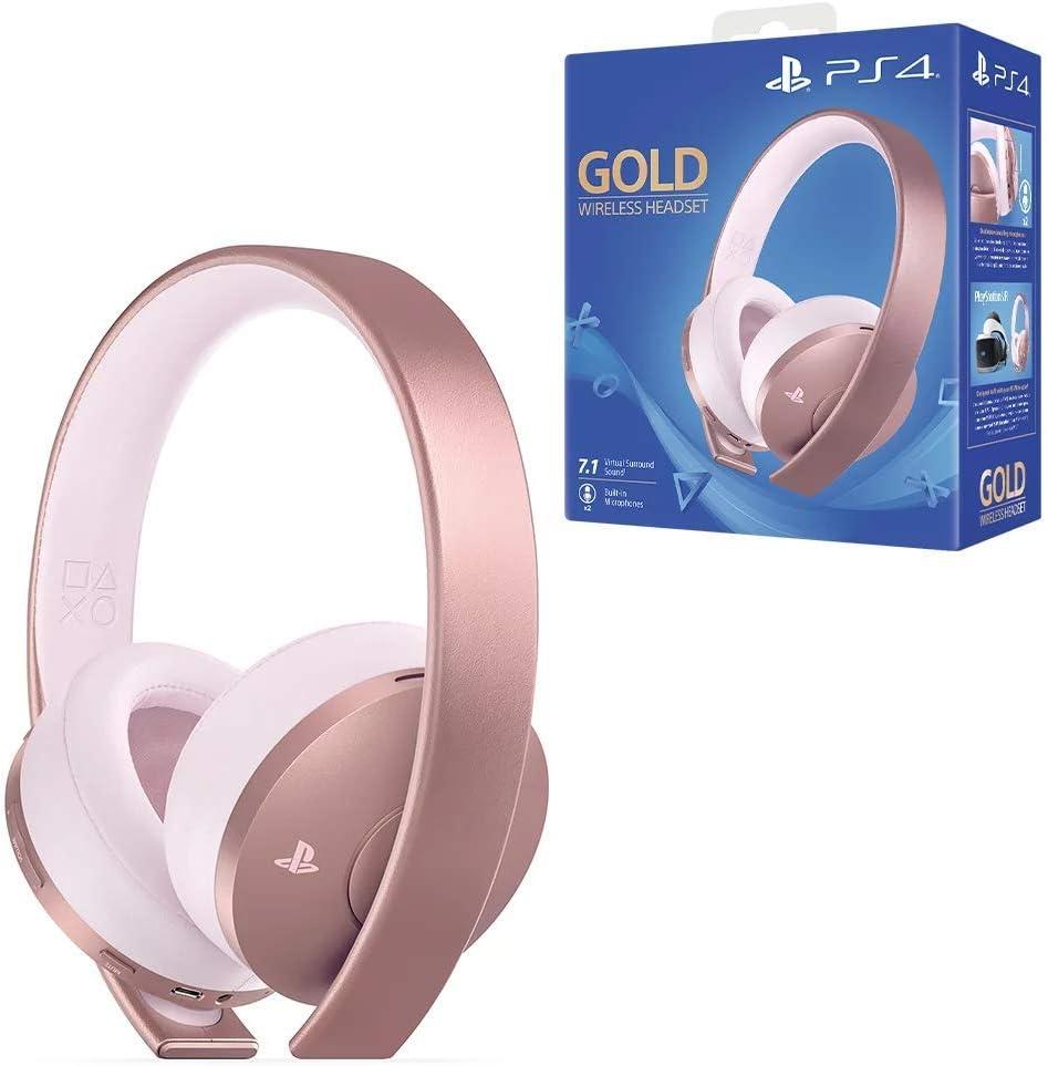 Sony - Wireless Rose Gold Headset (PS4): Sony: Amazon.es: Videojuegos