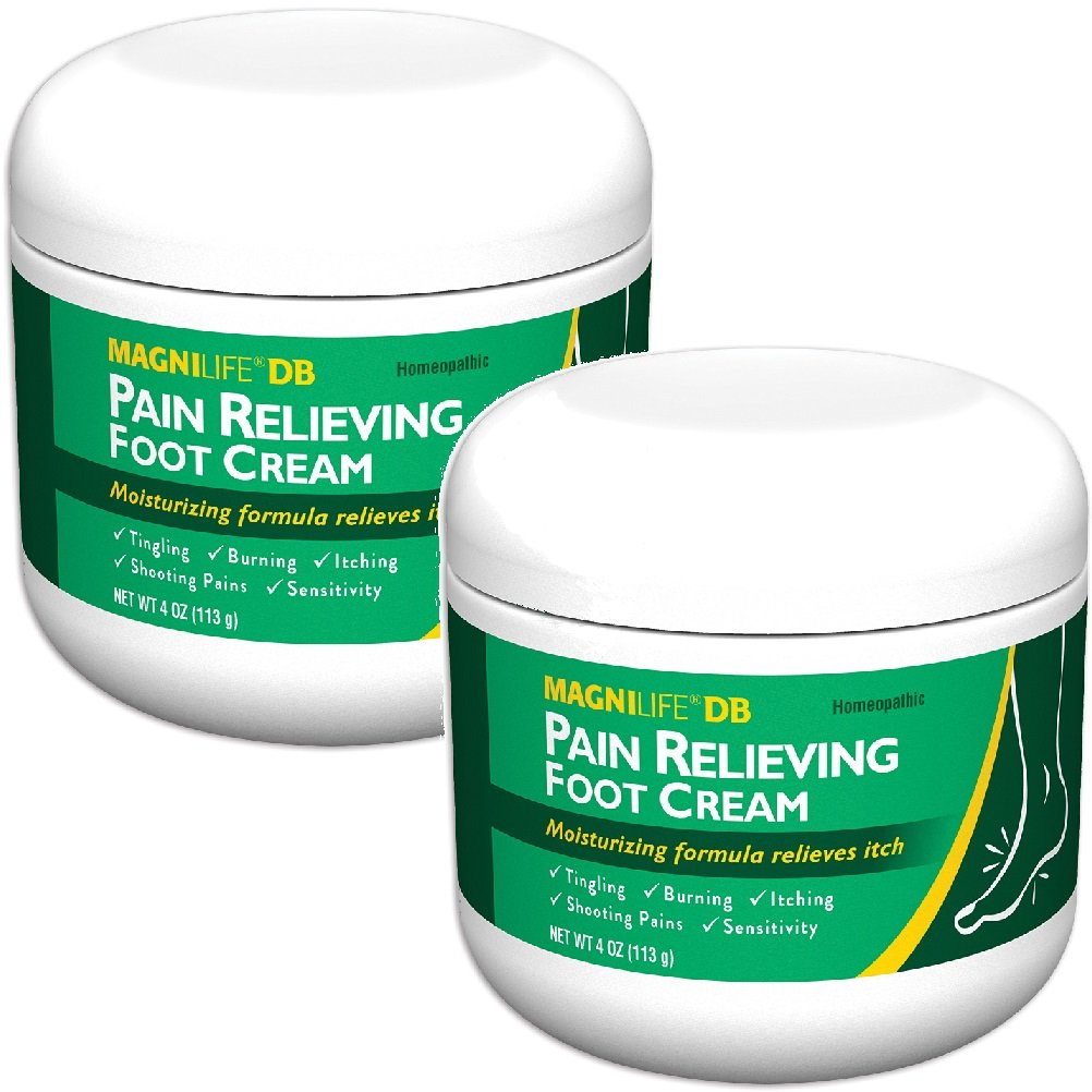 Set 2 Magnilife Pain Relieving Foot Cream Calms Nerves In Feet And