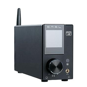 SMSL AD18HIFI amplificador de audio con Bluetooth 4.2soporta APT-X,