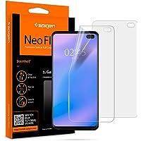 Spigen Samsung Galaxy S10 PLUS Neo Flex HD Screen Protector - 2 Pack - In-screen Fingerprint sensor compatible - Full cover Flexible